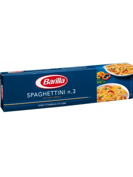 Barilla Spaghettini n.3 500г итальянские спагетти