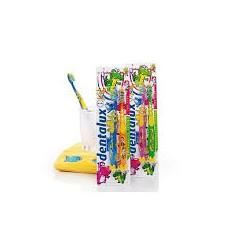 Dentalux Kids-детская зубная щетка 1+1