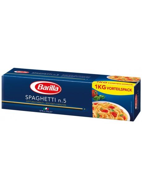 Barilla Spaghettini n.5 1кг итальянские спагетти