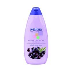 Malizia Pleasure гель для душа Асаи и черная смородина