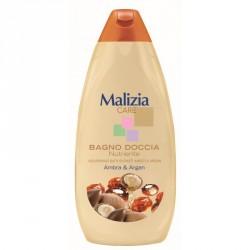 Malizia Care гель для душа Аргановое масло и янтарь
