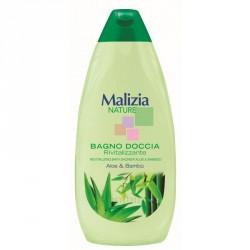 Malizia Nature гель для душа Алоэ и бамбук