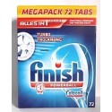 CALGONIT finish Geschirrspül-Tabs CLASSIC POWERBALL 72 - таблетки для посудомоечных машин (Германия)