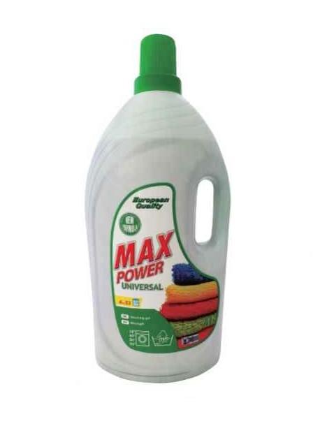 Бесфосфатный гелеобразный гель для стирки Max Power