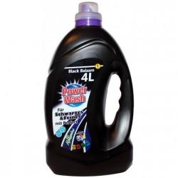 POWER WASH Black Balsam - Гель для стирки чёрного белья 4 л