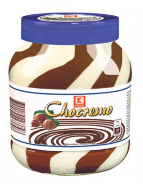 Немецкая Шоколадная паста Chocremo Classic 750г