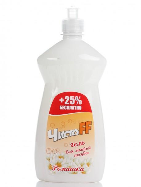 ЧистоFF  Гель для мытья посуды «Ромашка» (625 мл)