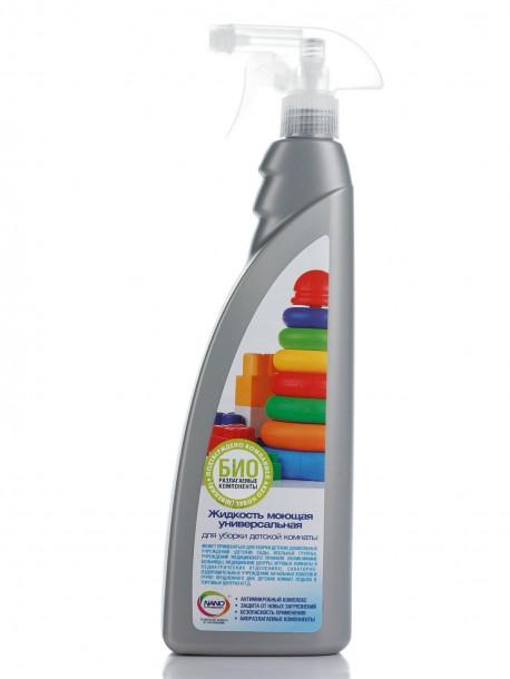 Нанохим  Жидкость моющая универсальная для уборки детской комнаты с ароматом лимона (800 мл)