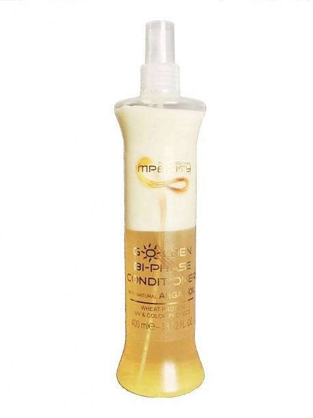Кондиционер для волос Imperity Golden Bi-Phase Conditioner 400ml спрей двухфазный с аргановым маслом