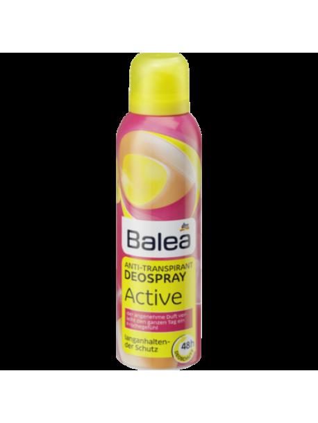 Дезодорант аэрозольный Balea Anti-Transpirant Deospray Active «48ч» 200 мл.