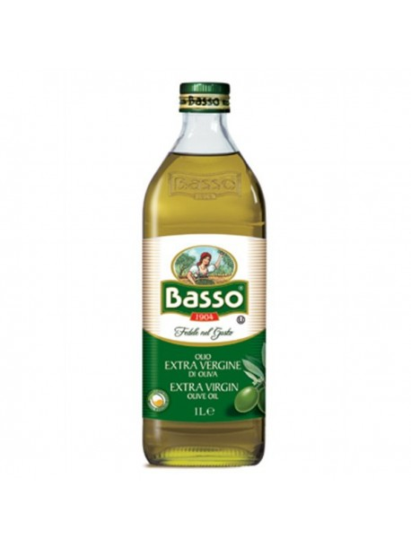 Оливковое масло BASSO Extra Virgin Olive Oil 1L