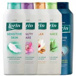 Крем-гель для душа Lorin Relax Shower cream 1000 мл.