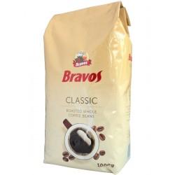 Кофе в зернах BRAVOS Classic 1кг.