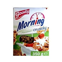 Кранчи Goody Morning Hazelnuts 350 гр