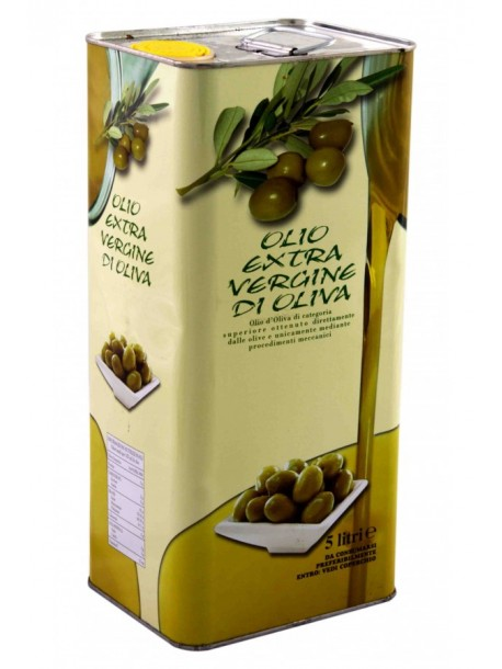 Оливковое масло Extra Vergine DI OLIVA 5 L