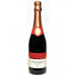 Вино игристое земляничное FRAGOLINO FIORELLI ROSSO 0,75L.