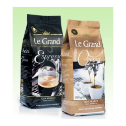 Кофе в зёрнах Le Grand Espresso 500г Польша)