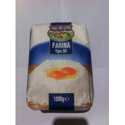 TRE MULINI Farina tipo 00 мука 1кг.Италия.
