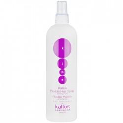 Спрей для укладки Kallos flexible hair spray 400 ml