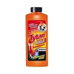 Гранулированное средство для чистки канализационных труб 500 г, Tytan