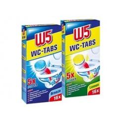 W5 чистящие таблетки для унитаза 16 шт.Германия