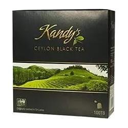 Цейлонский черный листовой чай Kandy*s Ceylon black leaf tea 100г