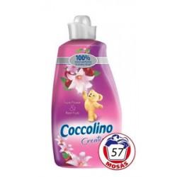 Ароматизированый Ополаскиватель Coccolino Creations Цвет Тиары & Вишня, 2L (57стирок)Италия.