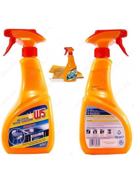 Средство для чистки кухни W5 спрей 750мл  Германия.