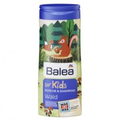 Детский шампунь без слез для девочек Balea dusche & shampoo for Kids Wald 300 мл Германия.