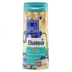 Детский шампунь без слез для мальчиков Balea dusche & shampoo for Kids Roboter 300 мл Германия.