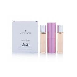 Мини парфюм Dolce & Gabbana 3 L`Imperatrice с ферамонами + 2 запаски, 3*15 мл.