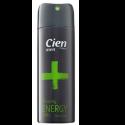 Дезодорант (спрей) мужской - Cien Men Anti-Perspirant Energy, 200ml