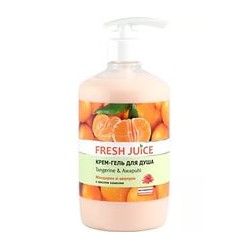 Крем гель для душа Tangerine and Awapuhi 750 мл Fresh Juice