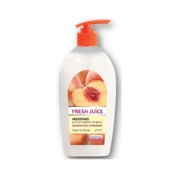 Молочко для интимной гигиены Fresh Juice Peach&Orchid деликатное 500 мл