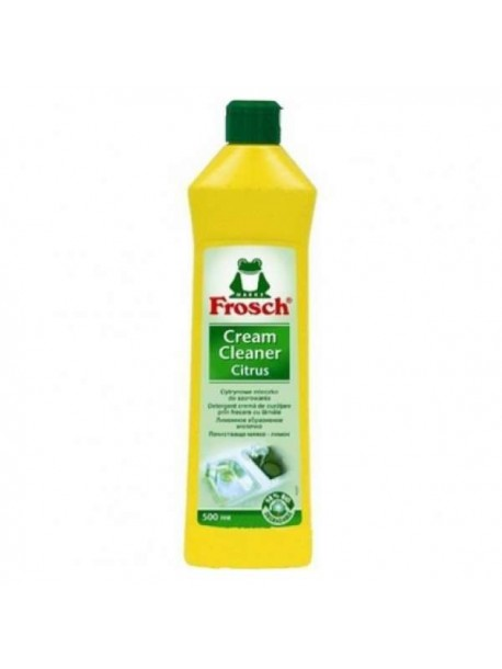 Молочко абразивное, FROSCH, Лимон, 500 мл