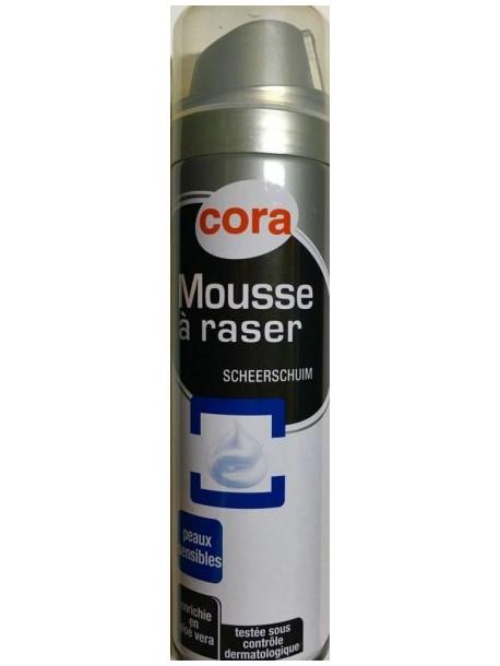 Пена для бритья Cora с ментолои и алое вера 250 мл.