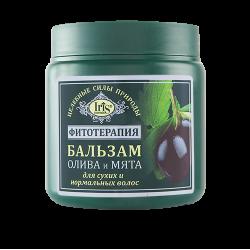 """Iris Cosmetic Бальзам """"Олива и мята"""" для сухих и нормальных волос"""