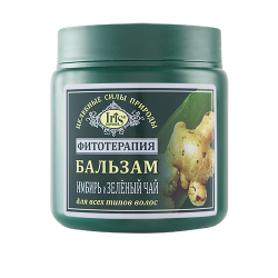 """Iris Cosmetic Бальзам """"Имбирь и зеленый чай"""" для всех типов волос"""