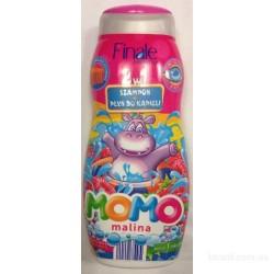 Детский шампунь+гель для душа Finale Momo малина 500мл