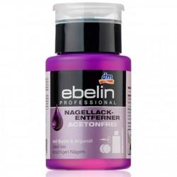 Ebelin Жидкость для снятия лака без ацетона с дозатором 125 мл Германия