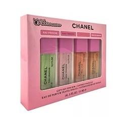 Подарочный набор Chanel Chance с феромонами 4 по 15ml
