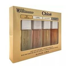 Подарочный набор Chloe с феромонами 4 по 15ml