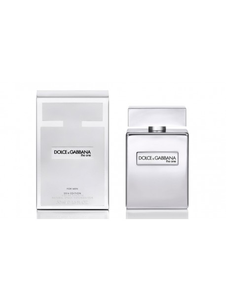 D&G The One Platinum Limited Edition Туалетная вода