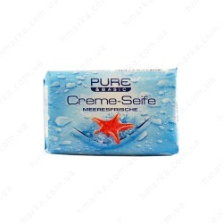 Мыло PURE&BASIC Creme-Seife Meeresfrische, 150 гр