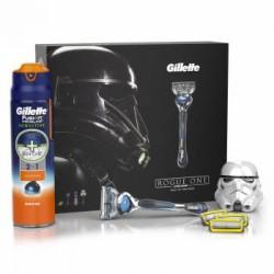 Набор подарочный Gillette Fusion ProShield (бритва/1шт + сменные кассеты/3шт + gel/170ml )