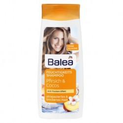 Balea Feuchtigkeits Shampoo Pfirsich & Cocos - шампунь для сухих и поврежденных волос, персик+кокос (Германия) 300 мл.