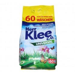 Бесфосфатный стиральный порошок KLEE, универсальный, 5 кг, 60 стирок