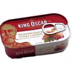 Печень трески King Oscar консервированная стерилиз 121г