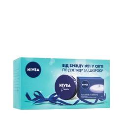 """Набор """"Питание и забота"""" Nivea Care & Soft (soap/100g+ cr/75ml)"""