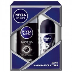 "Набор для мужчин ""Персональный уход"" Nivea For Men Personal Care Set (sh/gel/250ml + deo/50ml)"